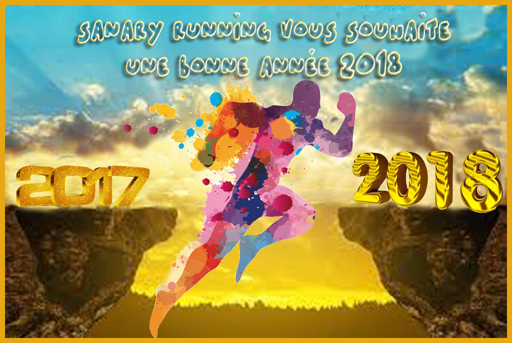 Flyer Voeux nouvel an 2018 Sanary Running