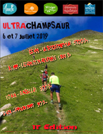 Flyer trail du Champsaur 2019