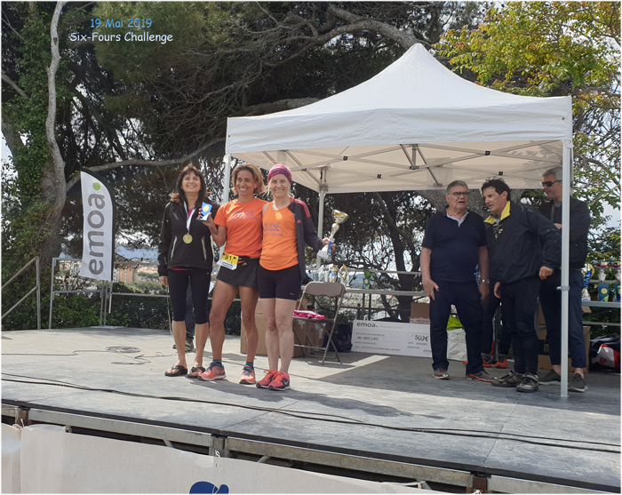Six-Fours Challenge 2019 - Podium de Martine