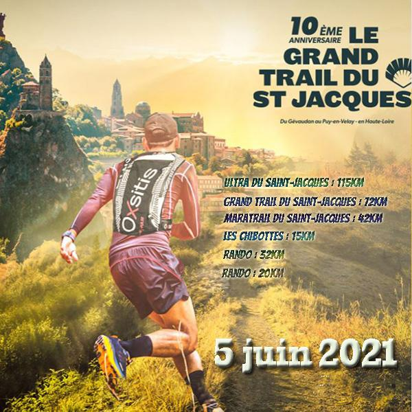 Trail du saint Jacques
